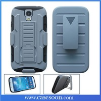 For Samsung Galaxy S4 S IV Case Cover Protector Advance Armor Case Cover Combo i9500