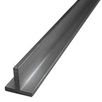 Galvanized hot rolled mild steel t shape steel metal iron rod for machinery and hardware with competitive price