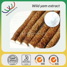 KOSHER HACCP GMP certified factory supply free sample natural progesterone 20% diosgenin wild yam extract