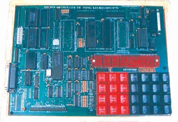 8031 MICROCONTROLLER TRAINING KIT WITH IN-BUILT POWER SUPPLY