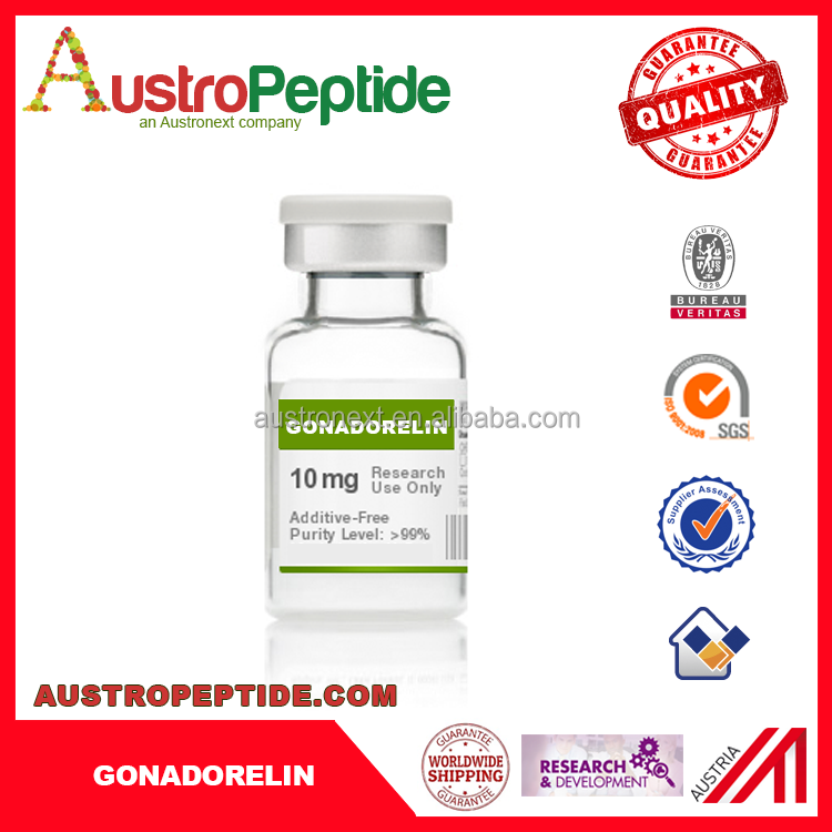 Gonadorelin Gonadorelin 71447-49-9 free sample for initial trial top quality peptide