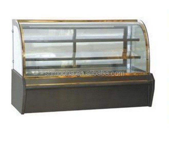 3 Layers Glass Cake Display Refrigeration Equipment (0 -10C)
