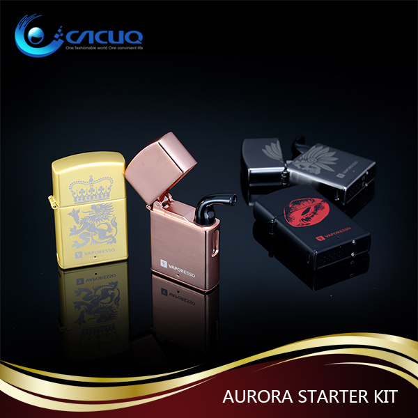 Classic Design 80W Vaporesso Zippo Mini Aurora Starter Kit with carefully crafted mouthpiece