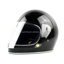 Motor black cross Helmet with visor Full Face Motorcyle Accessories