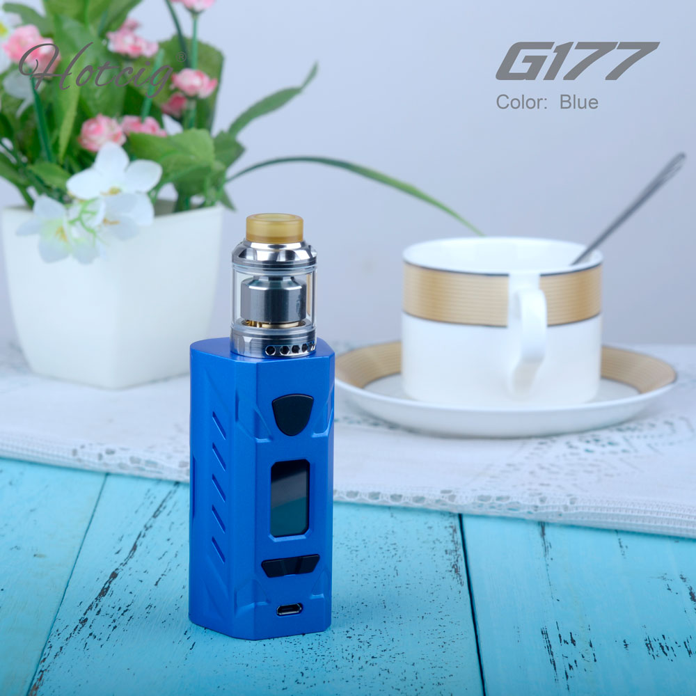 Factory wholesale hotcig G177 color screen mod Hotcig G177 Box Mod