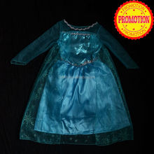 custom made elsa dress cosplay costume for party MAC-30