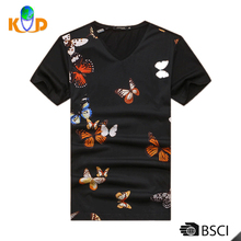Cotton/polyester Bulk T Shirt Printing, Custom T Shirt Printing, Clothing Manufacturer T Shirt Wholesale