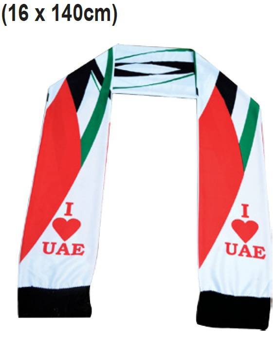 National Day Scarf for UAE National Day (Mph78)