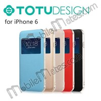 TOTU Design Case for iPhone, Flip Cover for iPhone 6, Top Cell Phone Case Manufacturer