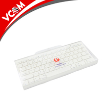 VCOM 2017 new design high quality elegant white bluetooth keyboard for computer