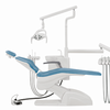 CE and ISO approved hot sale dental unit,dental chair with LED light sensor light