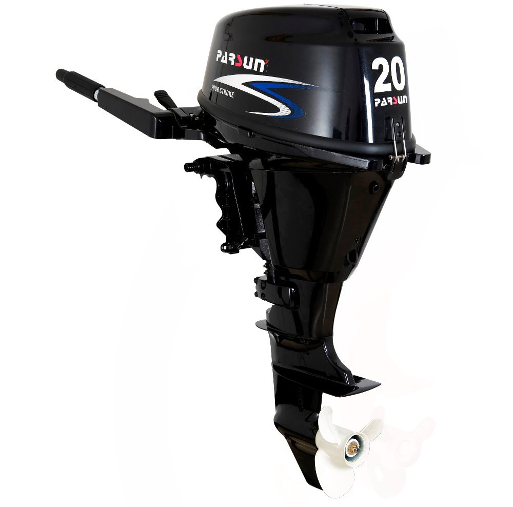 4 stroke 20hp boat engine / tiller control / electric start /short shaft