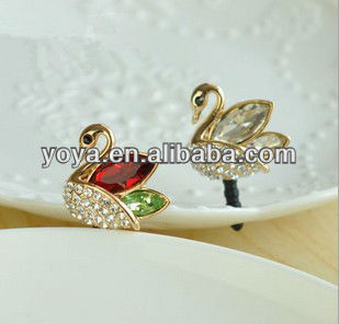 P0828 Swan Cute Headphone Dust Plug