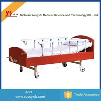 Wholesale moving folding Home Care hospital patient Bed For elderly