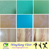 Excellent Quality indoor pvc sports flooring with various pattern sports floor tiles pvc sports surface 2018