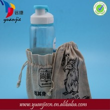 Alibaba china top sell leather wine jute bags