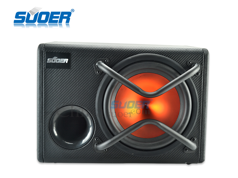 Suoer High quality 12v bass box designcar power speaker subwoofer