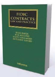 FIDIC Contracts: Law and Practice Book