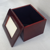 Funeral supplies solid wood pet cremation urns for ashes