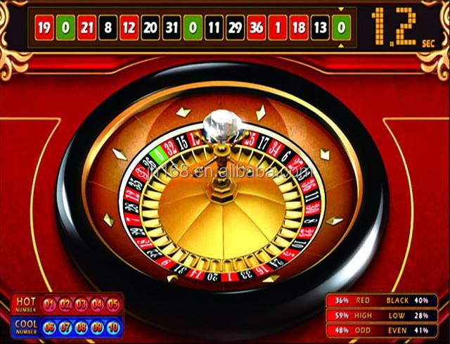 Royal club roulette board