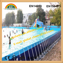 High quality adult kids metal frame inflatable swimming pool