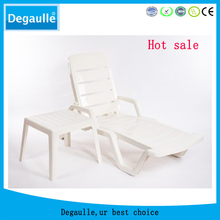 Outdoor swimming pool plastic beach sun lounge chair
