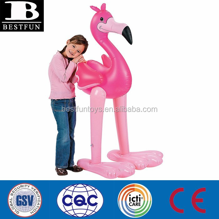 Giant Pink Inflatable Flamingo Inflatable Christmas Flamingo Decorations