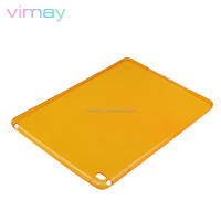soft clear tpu case cover For ipad air 2/ ultra-thin back cover case for ipad air 2 /case for ipad air 2 tablet