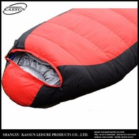 Widely use folding high quality sleeping bag down sleeping bags lightweight