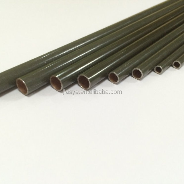 JSY PVF coated double wall welded steel tube 4.76'' *0.71mm for automobile hydrauic pipes