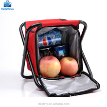 high quality thermal wine folding camping fishing chair cooler bag
