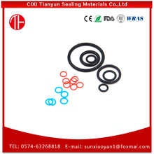 Factory price food grade round ring rubber seals for canisters