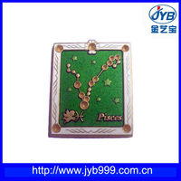 High class badge - table tennis logo/metal popularity badge(JYB-046)