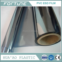 clear esd grid film for industries