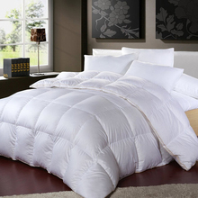 Wholesale 100% Cotton White King Size Hotel Goose Down Duvet
