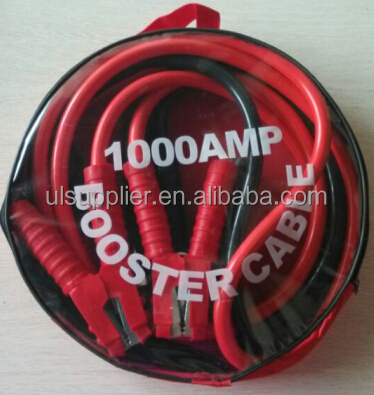 S10185 Heavy Duty Booster Battery Jumper Booster 1000 AMP Jump Start Cable For Car