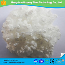 100% virgin raw and dyed polyester pet bottles recycle polyester staple fiber