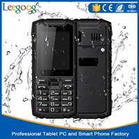 New Arrival 3G WCDMA phone 2.4inch Waterproof mobile Phone