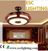ceiling fan lights can remote lights with ABS blade