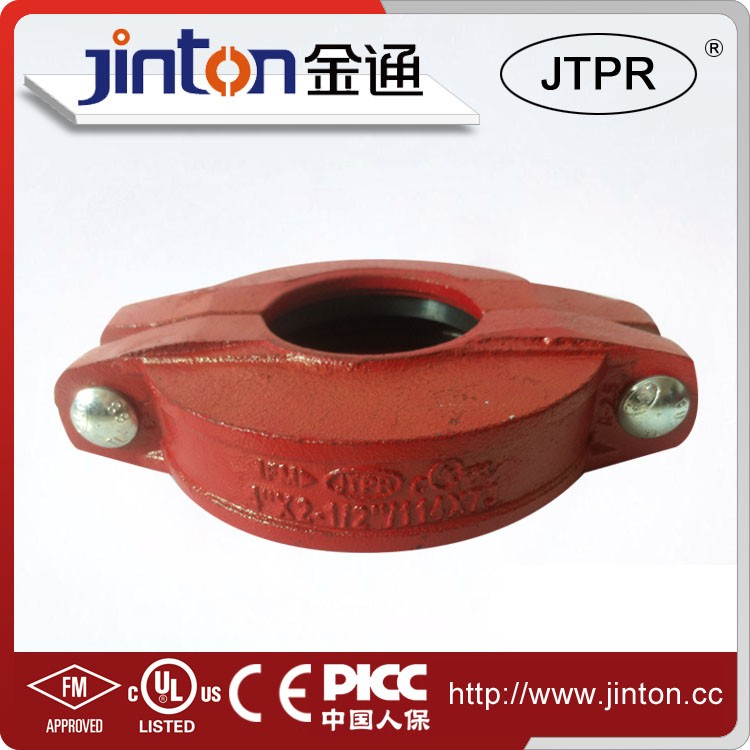 China manufacturing grooved coupling flexible Grooved Pipe Couplings