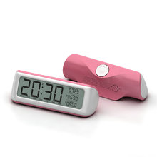 Best selling multifunctional flexible smart timer desk alarm clock with temperature date calender time display