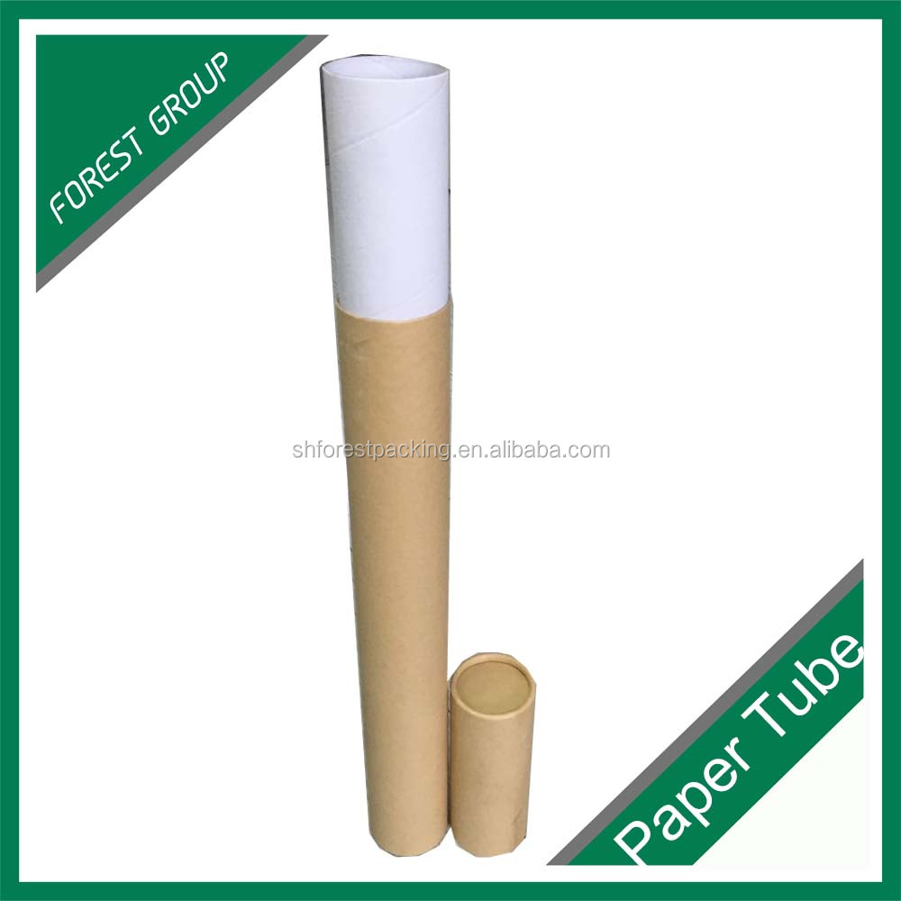 CUSTOM CARDBOARD AND RECYCLED PAPER SHIPPING TUBE