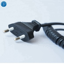 Manufacturer Custom IEC320 C7 Coiled Power Cord