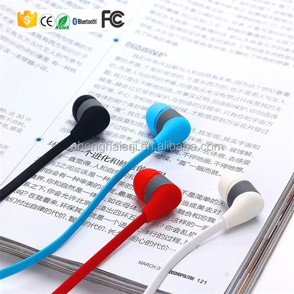 Get free samples in-ear selfie function <strong>bluetooth</strong> V 4.1 sport wireless mp3 earphone