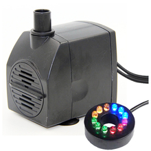YuanHua Low Voltage 12V Submersible Water Fountain Pump With LED Lights