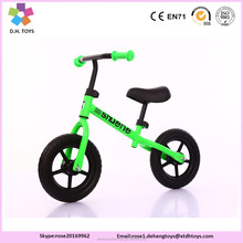 Air tire and Foam type child balance bike /kids balance bicycle for wholesale