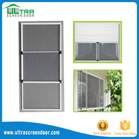 Adjustable Aluminum Profile Fiberglass Mesh Sliding Window Screen