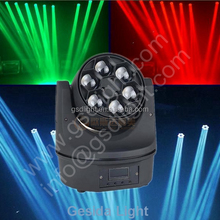 moving head light led mini bee eye stage lighting with 12 month warranty