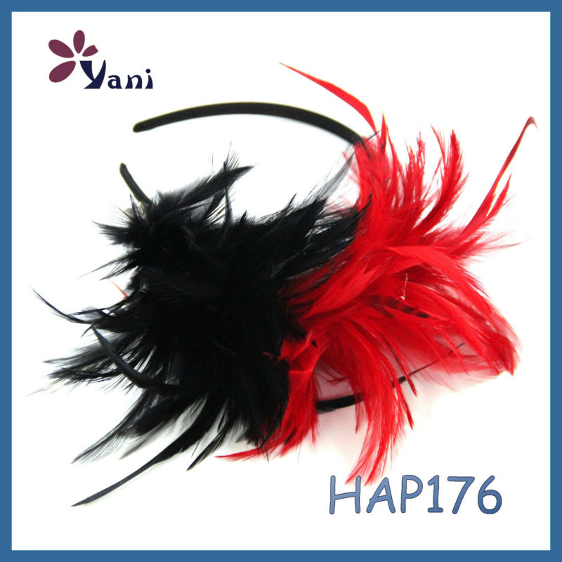 New Designs Wholesale Fashion Indian Feather Headbands for Women