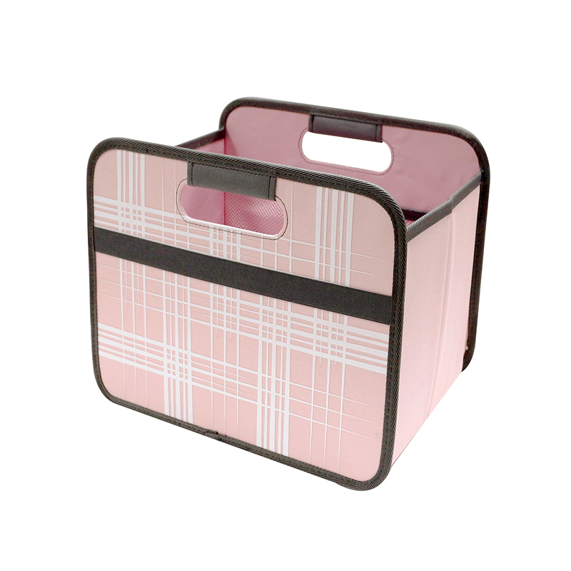 2019 Hot Portable Lattice Printing Multipurpose  File Box Storage Box